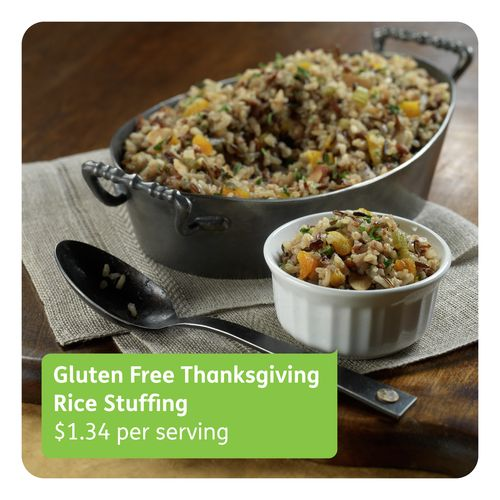 Gluten Free Thanksgiving Stuffing with Wild and Brown Rice