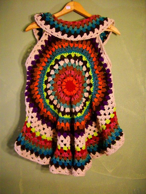 RESERVED FOR EVA Mandala Gypsy Vest Custom Order