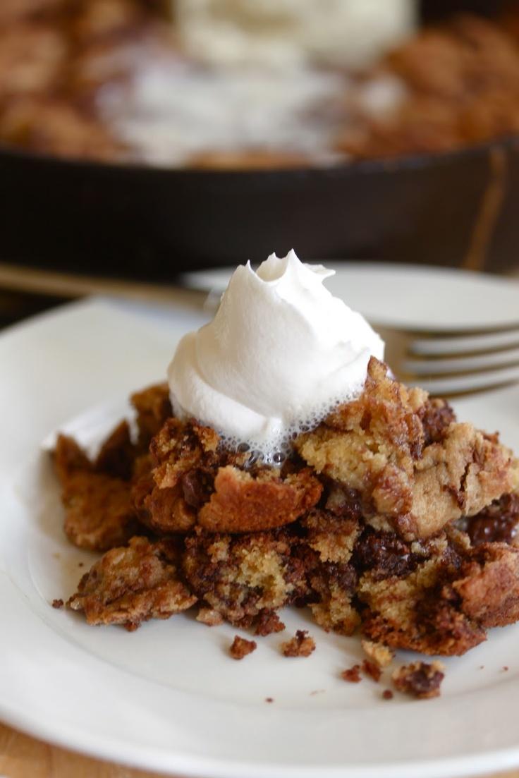 One Pan Skillet Cookie | Cookies | Pinterest
