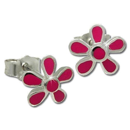 teenie-weenie kids flower earrings