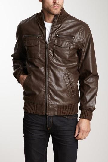 Buffalo David Bitton Leather Jacket   Outerwear   Pinterest