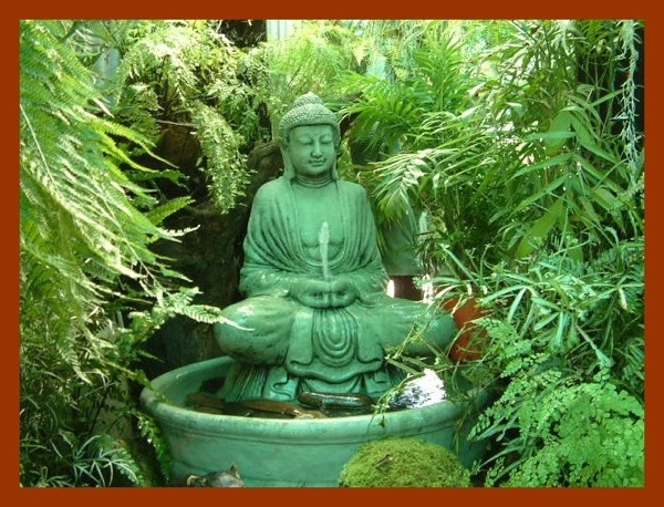 buddhist garden meditation gardens pinterest. Black Bedroom Furniture Sets. Home Design Ideas