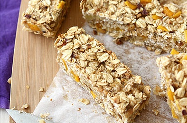 low fat granola bars with mango hazelnut amp ginger punchfork