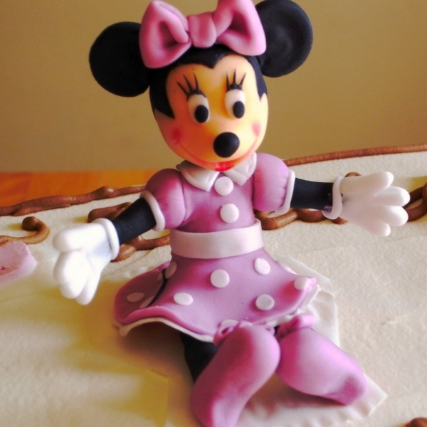 Minnie Mouse Cake Topper Images : Minnie Mouse cake topper Cake decorating Pinterest