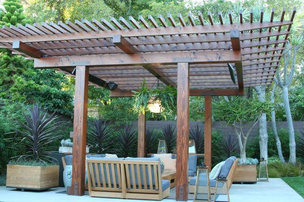 Backyard overhang. | Ideas | Pinterest