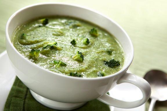 Vegan creamy broccoli soup recipe | cooking | Pinterest