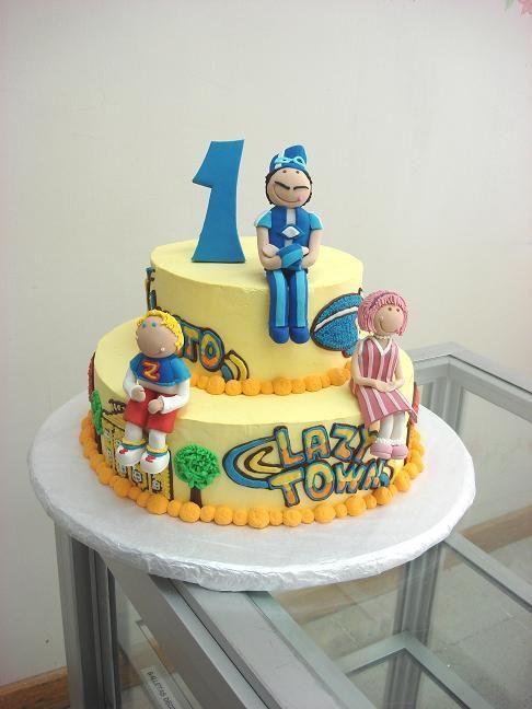 Lazy Town Cake Decoration Wwwcakedecoideascom Picture cakepins.com