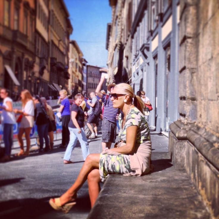 Street Style Florence Italy Fashion Pinterest