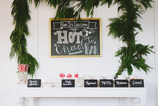 Hot Cocoa Bar {Little Peanut Style} | Sweet Little Peanut