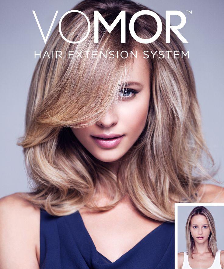 Vomor Hair Extension System Brieshi Salon Blog