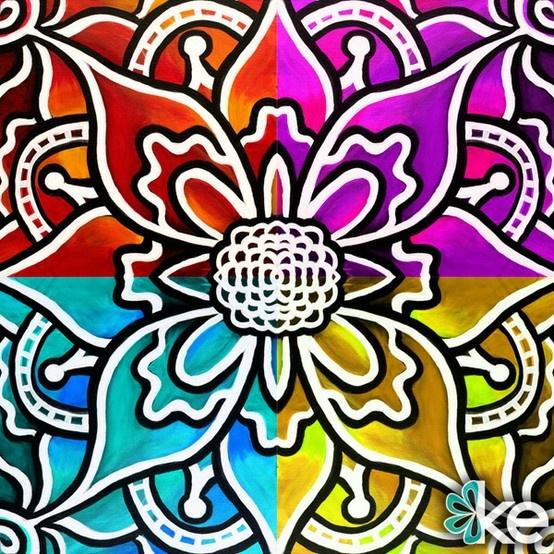 Radial Design Art : Pin by jennifer chapa on art inspiration pinterest