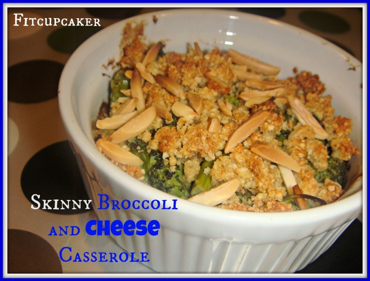 Serving Broccoli & Cheese Casserole | Healthy Sides & Entrees | Pin ...