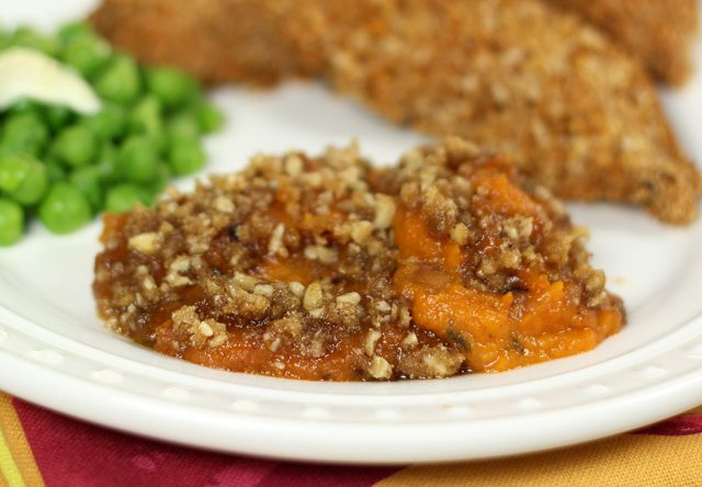Twice-Baked Sweet Potatoes with Jalapeno and a Streusel Topping | Rec ...