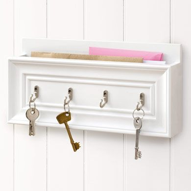 Amelie letter rack and key holder house ideas pinterest - Key and letter rack ...