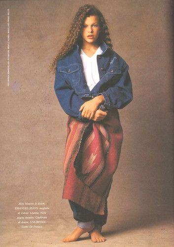 Milla Jovovich Young |...