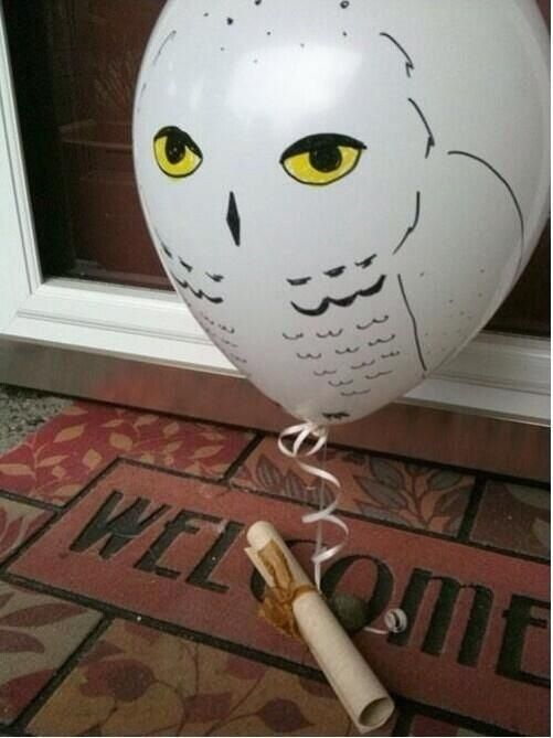For all Harry Potter fans , this would be the cutest way to be asked to prom/homecoming!