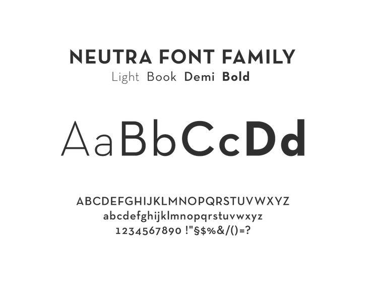Neutra Text Regular font