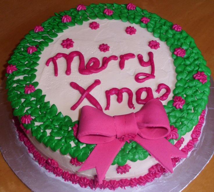 Christmas Cake Images Pinterest : Christmas cake My cakes Pinterest