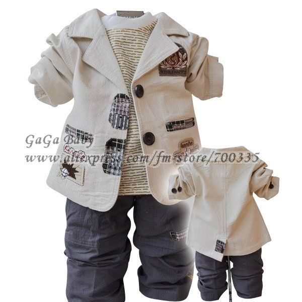 Cool baby clothes baby clothing set long sleeve fationg spring baby