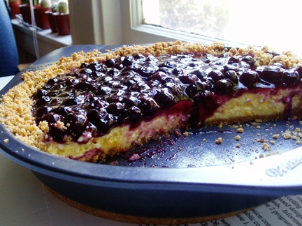 blueberry cream cheese pie! | Sweets! | Pinterest