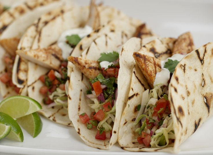 ... on Father's day with this recipe for Grilled Baja-Style Fish Tacos