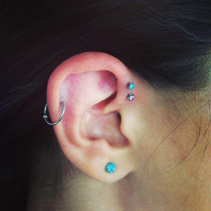 ear piercing helix hoop - photo #12