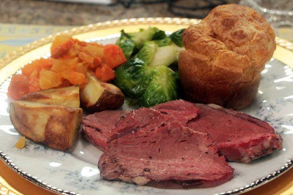 standing rib roast prime rib with yorkshire pudding recipes prime rib ...
