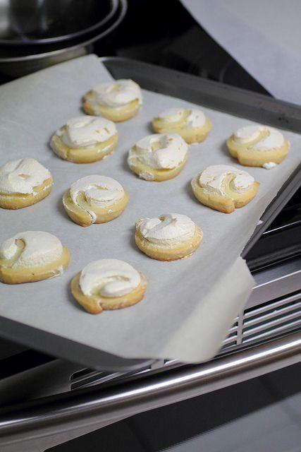 Meringue Swirl Cookies | .Recipes / Cookbook | Pinterest