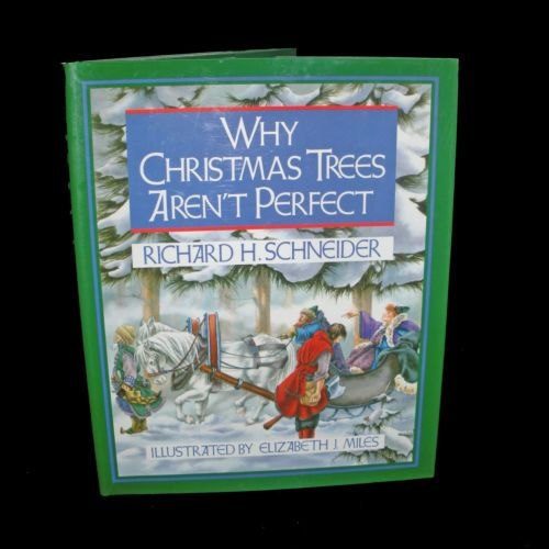 Why christmas trees arent perfect hardback childrens picture story bo