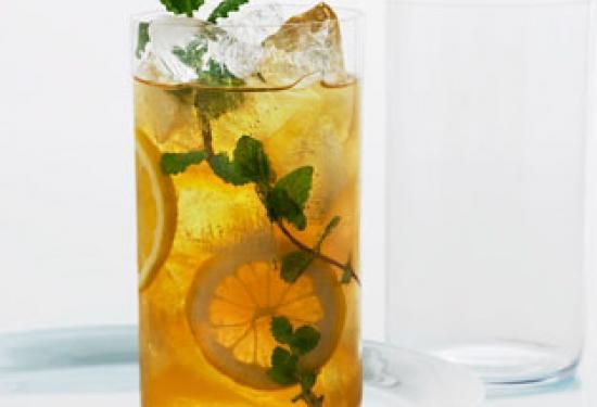 Lemon Ginger Iced Tea/ thousand cut ginger(marinated in honey ) hot ...
