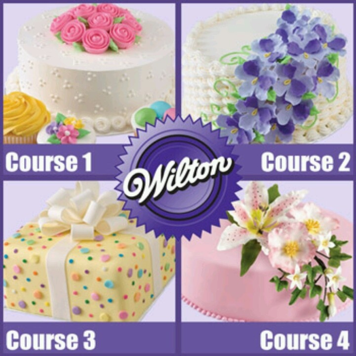 Local classes Wilton Cake Decorating Pinterest