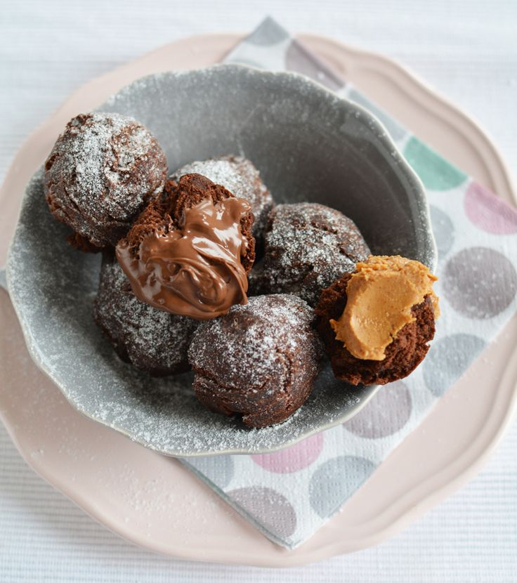 Chocolate Doughnut Holes Recipe — Dishmaps
