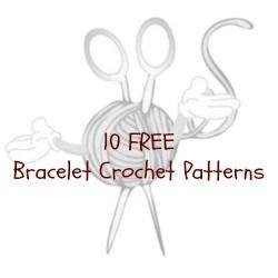 Ravelry: Crochet Bracelet With Button pattern by Beauty