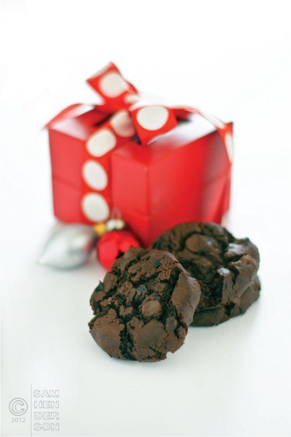 Double Chocolate Cherry Cookies   Sweeties   Pinterest