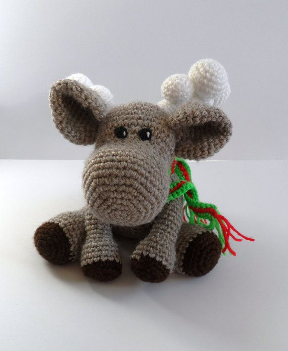 Crochet Pattern For 18 Inch Doll Shoes : Crochet Toy Pattern, Crochet Deer Pattern , Amigurumi Deer ...