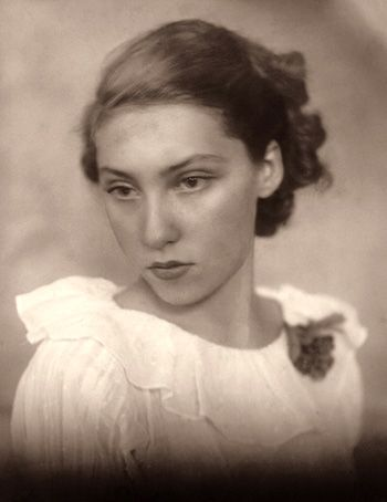 """I write to save someone's life, probably my own.""—Clarice Lispector in Rio de Janeiro during the 1930s."