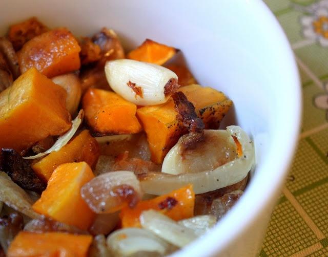 Roasted Butternut Squash, Radicchio, And Onion Recipes — Dishmaps