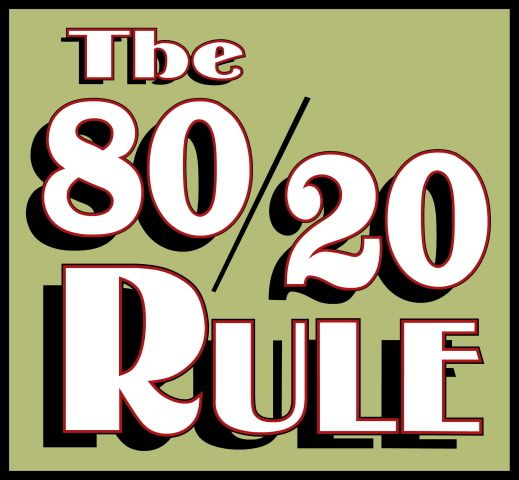 80 20 rule relationships