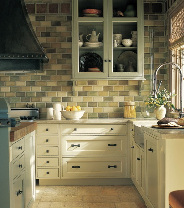 Country Kitchen Love The Backsplash Awesome Spaces Pinterest