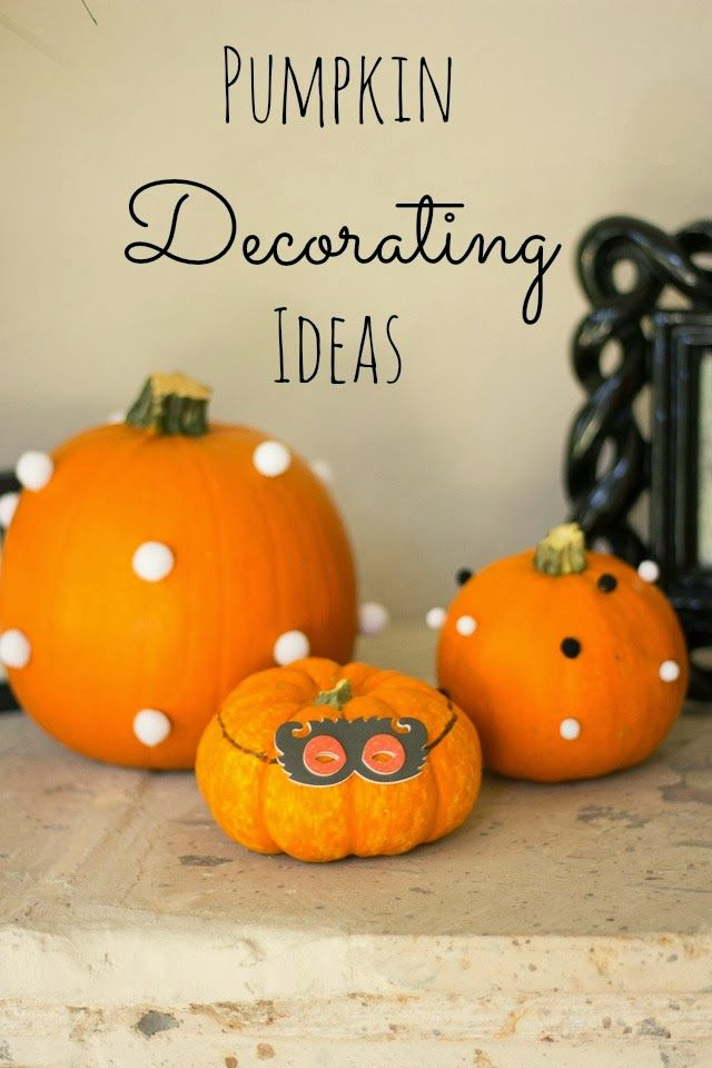 pumpkin decorating ideas holiday ideas pinterest