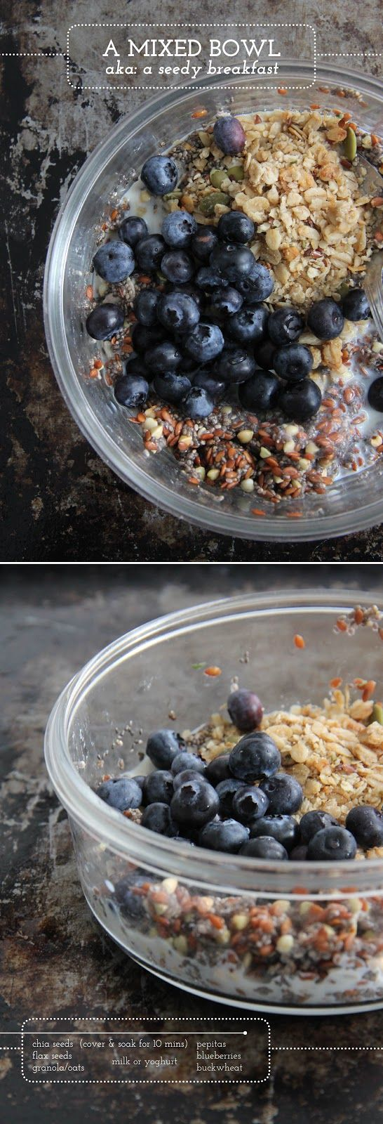 Quinoa breakfast bowl | Let's get it on... in the kitchen | Pinterest