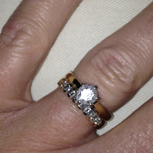 Current wedding ring redesign pinterest for Redesign wedding ring
