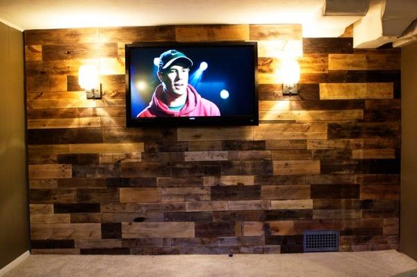 Palette Wall Man Cave Home Ideas Pinterest