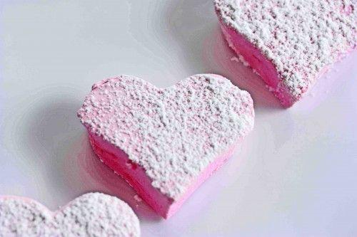 Homemade Strawberry Marshmallows | Valentines | Pinterest