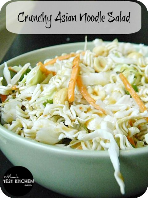 Crunchy Asian Noodle Salad - Mom's Test Kitchen