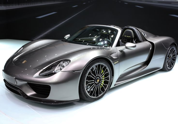 Porsche 918 Spyder new 2015 photos