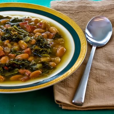 Slow Cooker from Scratch: Slow-Cooker Cannellini Bean and Kale Soup ...