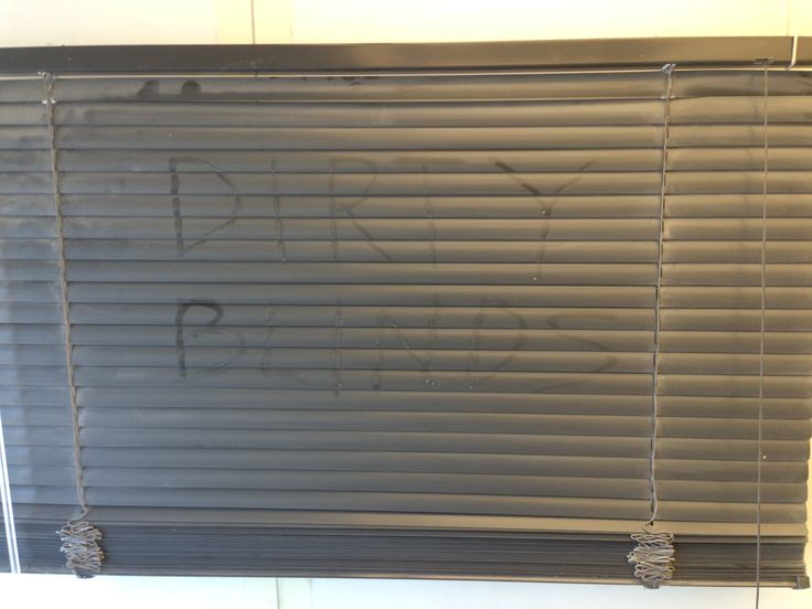 Cleaning How To Clean Blinds