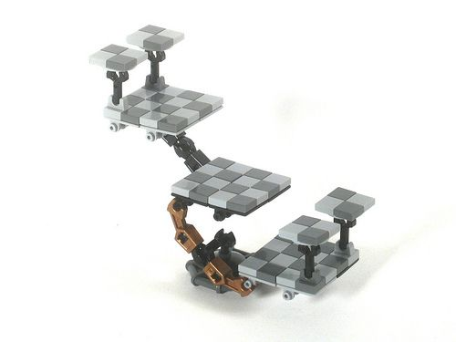 Star Trek 3d Chess Board Lego Microscale Pinterest