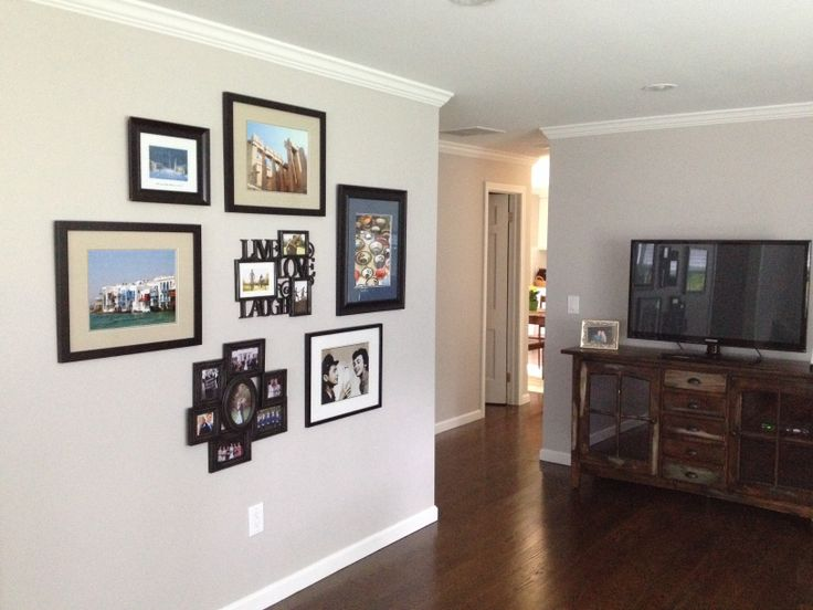 Photo Collage In Living Room Home Sweet Home Pinterest